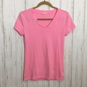 Zenana Outfitters Hot Pink V-neck Top